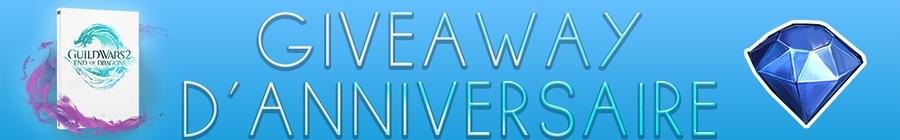 GIVEAWAY : GW2.FR fête ses 11 ans