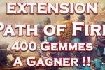 Nouveautés de l'extension en vidéo ! Gagnez 400 gemmes !