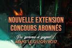Nouvelle extension & Concours gemmes !