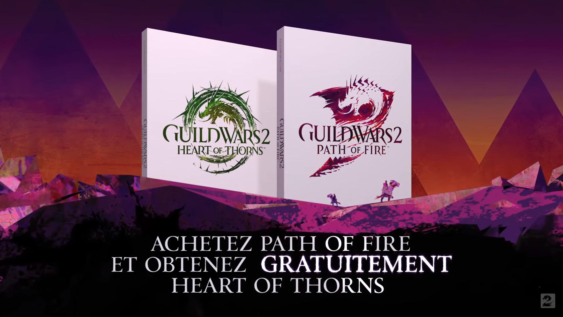 GW2.FR Guild Wars 2: Heart of Thorns est gratuit à l'achat