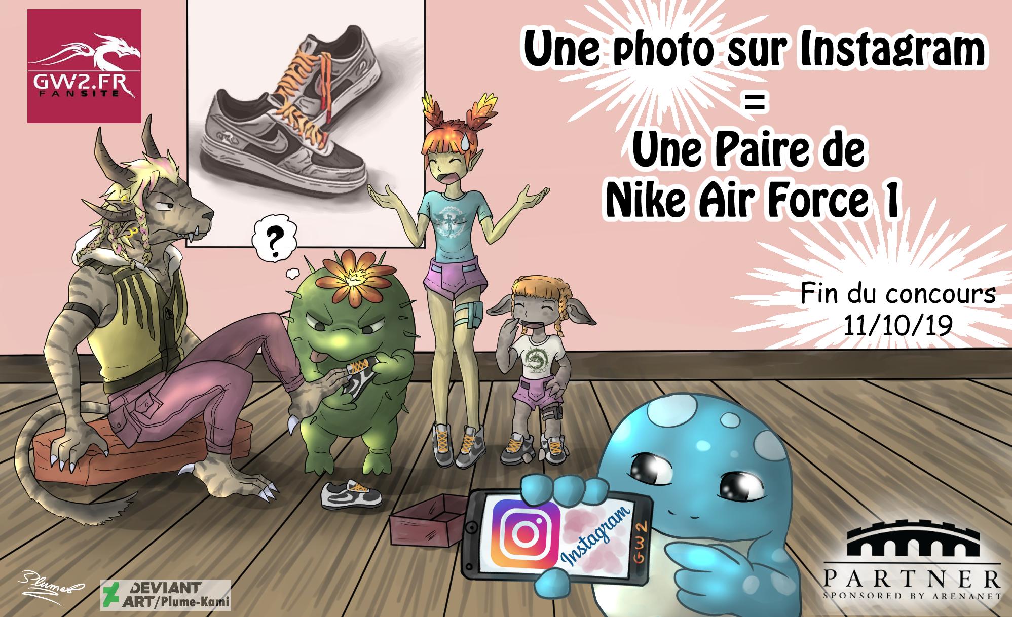GW2.FR Rock these Rytlocks ! Gagnez une paire de Nike Air