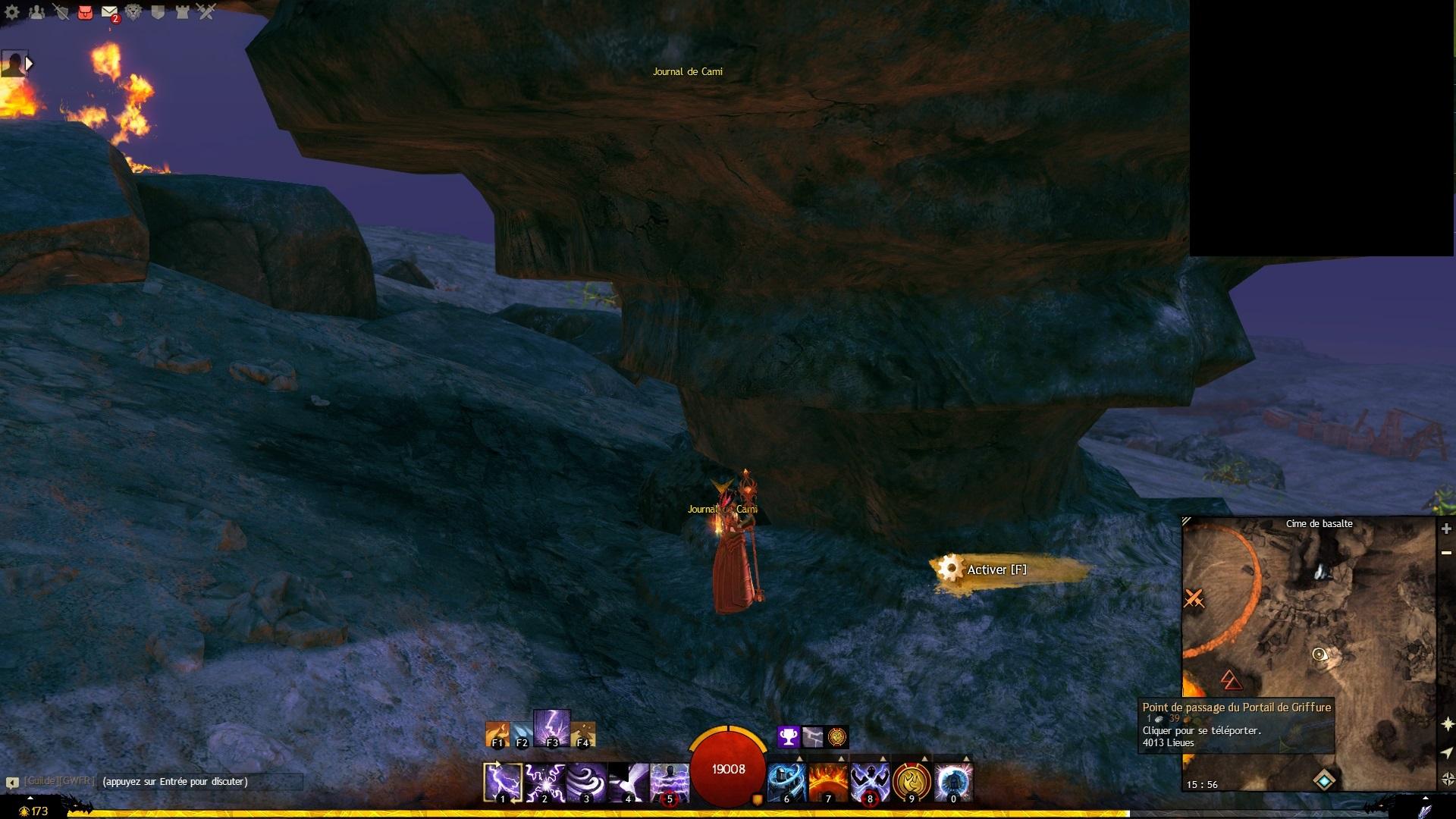 Cime de basalte (Ultime voyage de Cami)